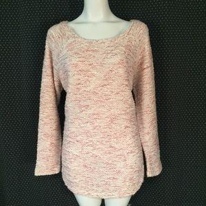 Jessica Simpson Pink Oversize Sweater Size L