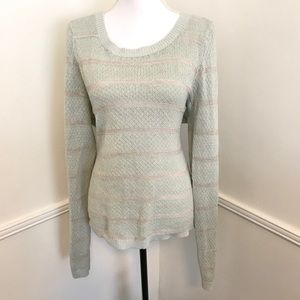 Lauren Conrad XL mint long sleeve sweater 🎀