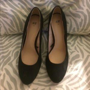 🎉WS🎉H&M black heels.