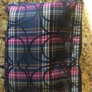 Coach multi-pattern travel bag