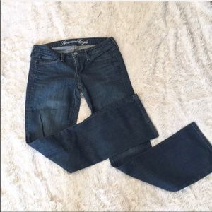 American Eagle Size 4 Boot Cut Jeans