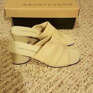 """Apostrophe 2"""" heels"""