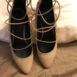 Rebecca minkoff size 9 blush pink heels