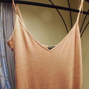 ZARA Beige Casual Cami Dress size S