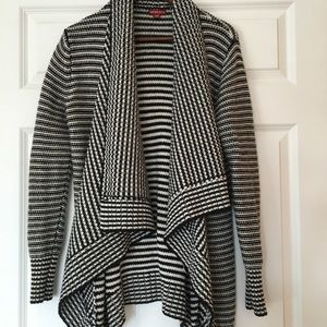 Heavy weight open front sweater/ cardigan
