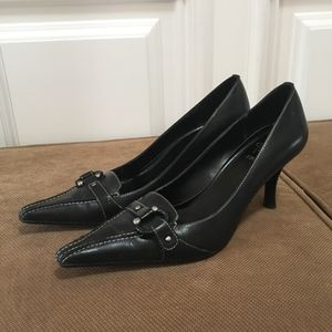Joan & David Shoes - Joan&David Circa Comfort Pointy Toe Leather Heels