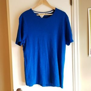 Rag & Bone bright blue comfy big tee