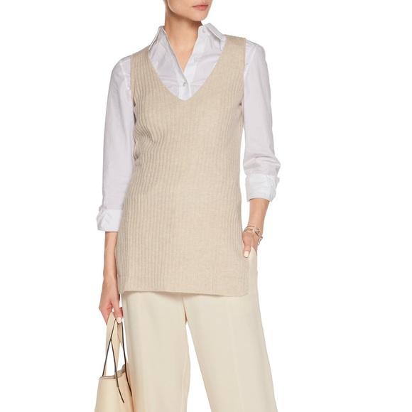 Autumn Cashmere cashmere vest sleeveless sweater