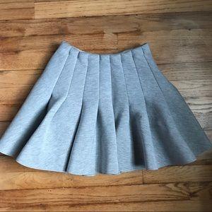 H&M mini scuba skirt