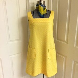 VINTAGE handmade yellow dress ☀️