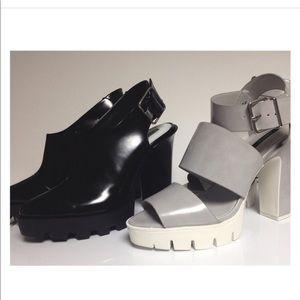 Zara Chunky Track Sole Heels