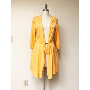 ❤️Betsey Johnson Orange Cardigan❤️