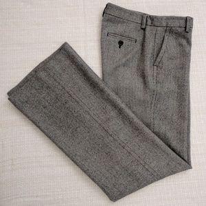 """J.Crew """"Favorite Fit"""" 100% Wool Tweed Dress Pants"""