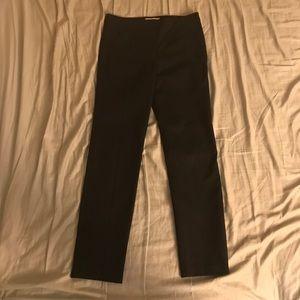 Tory Burch Size 6 black straight leg dress pants