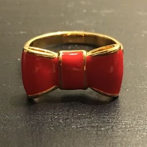 Kate Spade Red Bow Ring