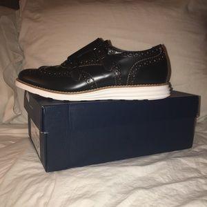 Cole Haan shoes. Double monk strap