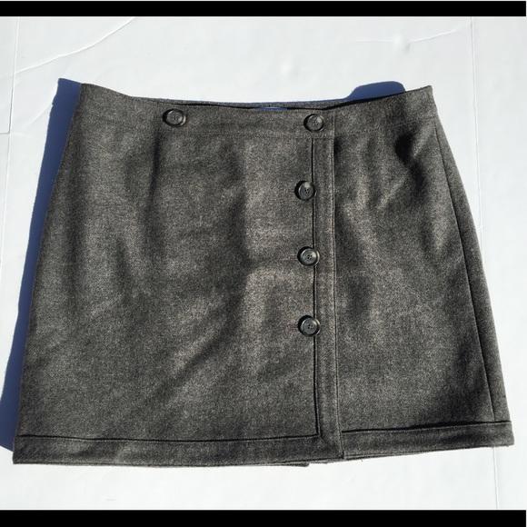 6d4612897d LOFT Skirts | Ann Taylor Wool Blend Wrap Skirt | Poshmark