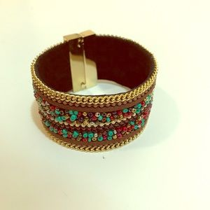Jewelry - Gold Bracelets with beads