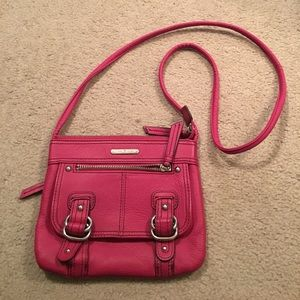 Hot Pink Etienne Aigner Crossbody Bag