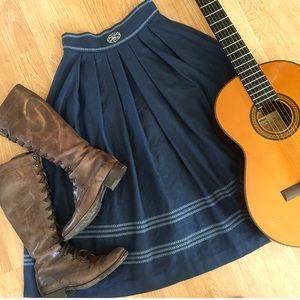 Vintage German Wool Skirt