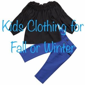 Kids Clothing for Fall or Winter