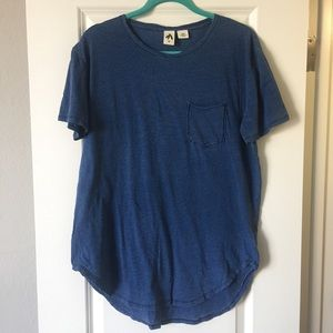 Urban Outfitters Blue Pocket T-Shirt