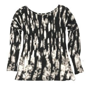 Zara Collection Digital Print LS Crew Sweatshirt