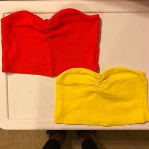 Zara Bright Tube Top Bundle!