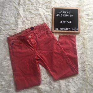 Anthro Andriano Goldschmied Stevie Skinny Jeans