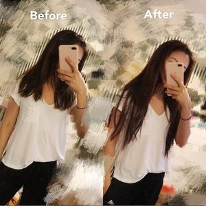 Other - Clip on brown hair extension