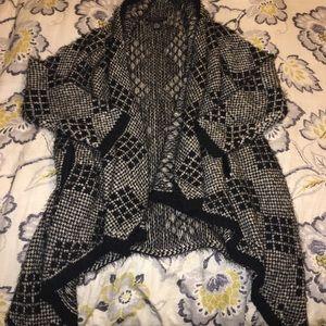 BCBGMaxAzria fuzzy cardigan