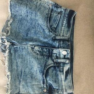 Women's Express Jean Shorts