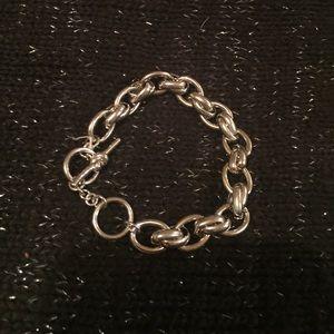 kate spade Silver Toggle Link Bracelet