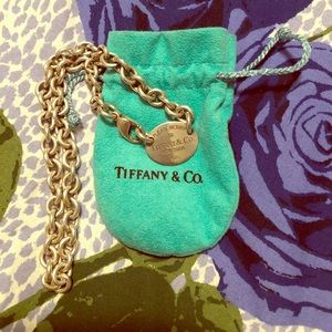 Tiffany and Co Dog tag- Authentic