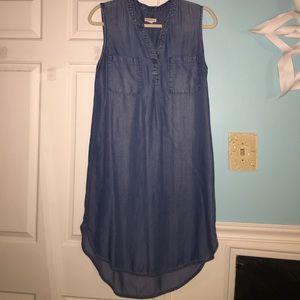 Cotton-jean dress