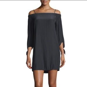 Ella Moss silk over the shoulder dress