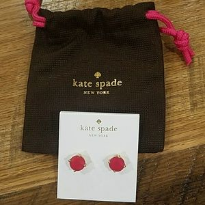Pink Kate Spade Gumdrop Earrings