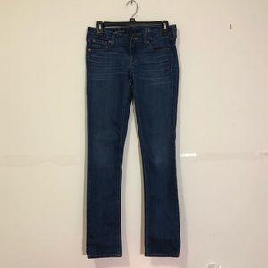 J. Crew: matchstick medium wash jeans