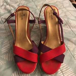 Kate Spade Party Wedges