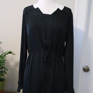 SimplyVera by Vera Wang Black Silk - Like Dress