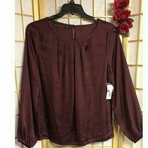 Dressy silky blouse
