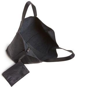 c9c58469dd1 Toms Bags | Matte Black Leather Cosmopolitan Tote | Poshmark
