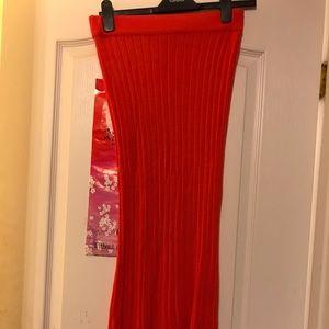 ASOS (Noisy May) Ribbed Midi Skirt!