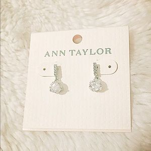 NWT Gorgeous Ann Taylor Diamond and CZ Earrings