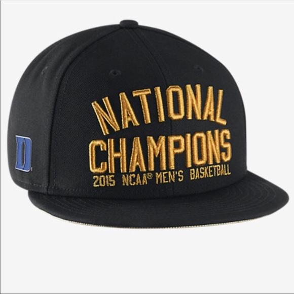 Duke championship hat. M 59e4232656b2d630b60a48bd d1024954180