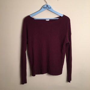 Maroon Garage Sweater