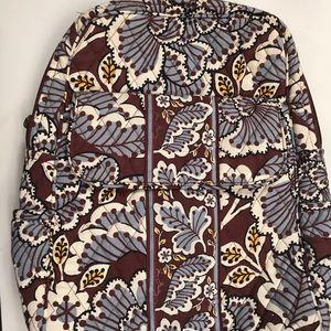 Vera Bradley Slate Blooms Small Backpack