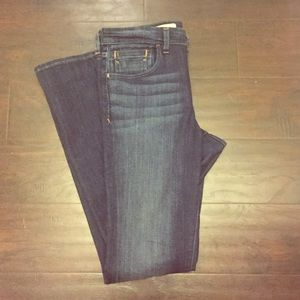 Pilcro Anthropologie Flair bootcut jean