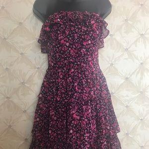 NWT White House Black Market strapless dress