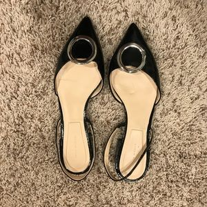 Zara pointed flats